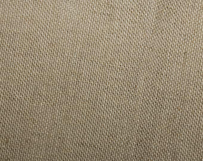 "Featured listing image: Scrim (Superior Quality) - Linen / Cotton Blend Fabric Material - 90cm (36"") wide"