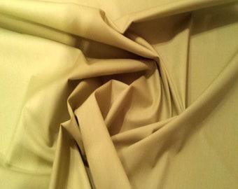"Sage Green - 100% Cotton Poplin Dress Fabric Material - Plain Solid Colours - Metre/Half - 44"" (112cm) wide"