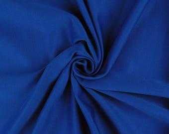"Royal Blue - Plain Scuba Bodycon Jersey Stretch Fabric Material -160cm (63"") wide"