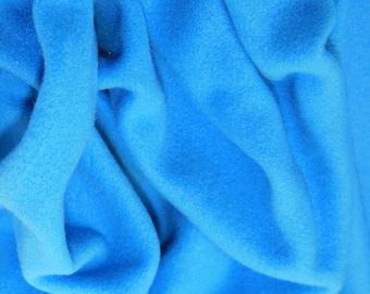 "Turquoise - Polar Fleece Fabric - Metre/Half - Anti Pil - 59"" (150cm) wide"