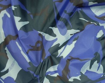 """Urban - Camo Ripstop Army Military Camouflage Fabric Material - 59""""/150cm wide- Rip-Stop"""