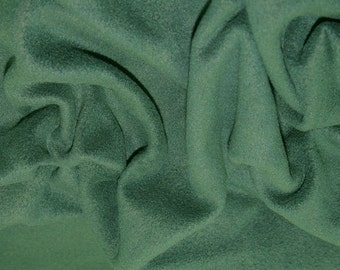 "Bottle Green - Polar Fleece Fabric - Metre/Half - Anti Pil - 59"" (150cm) wide"