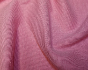 "Pink - Stretch Cotton Tube Tubing Fabric Material - 37cm round (14.5"") wide"