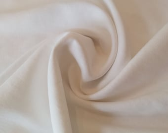 "White Washed Linen - 100% Linen Fabric Material - 137cm (53"") wide"