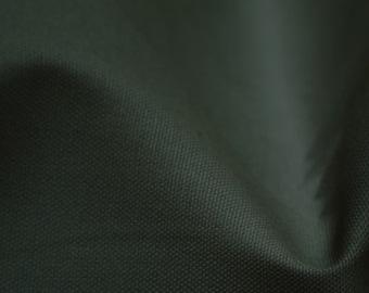 """Black - 100% Cotton Canvas Fabric - Plain Solid Colour Material - 57"""" (146cm) wide"""