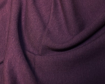 "Purple - Stretch Cotton Tube Tubing Fabric Material - 37cm round (14.5"") wide"