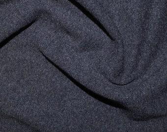 "Indigo Blue - Stretch Cotton Tube Tubing Fabric Material - 37cm round (14.5"") wide"