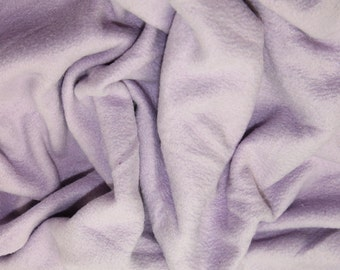 "Lilac - Polar Fleece Fabric - Metre/Half - Anti Pil - 59"" (150cm) wide"