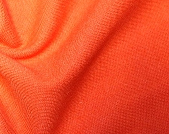 "Orange - Stretch Cotton Tube Tubing Fabric Material - 37cm round (14.5"") wide"