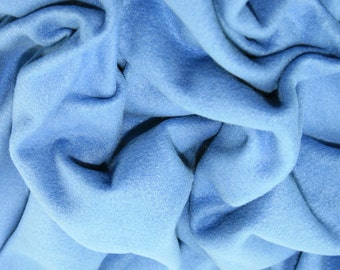 "Hyacinth Blue - Polar Fleece Fabric - Metre/Half - Anti Pil - 59"" (150cm) wide"