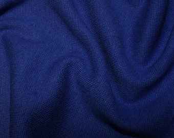"""Royal Blue - Stretch Cotton Tube Tubing Fabric Material - 37cm round (14.5"""") wide"""