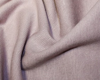 "Mauve - Stretch Cotton Tube Tubing Fabric Material - 37cm round (14.5"") wide"