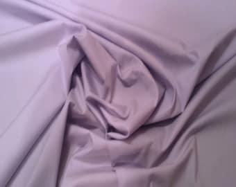 "Iris Purple - 100% Cotton Poplin Dress Fabric Material - Plain Solid Colours - Metre/Half - 44"" (112cm) wide"