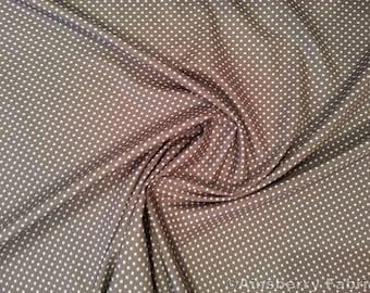 Grey Cotton Fabric Etsy