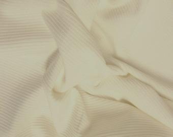 "Beige - Cotton Corduroy 8 Wale Fabric Material - 144cm (56"") wide"