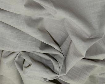 """Beige - Linen Look 100% Cotton Dress Fabric Material - Metre/Half - 58"""" (145cm) wide"""