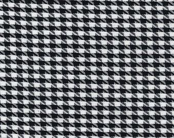 """Big Dog Tooth / Houndstooth Fabric - PolyViscose Suiting Material - Metre/Half - 59"""" (150cm) wide"""