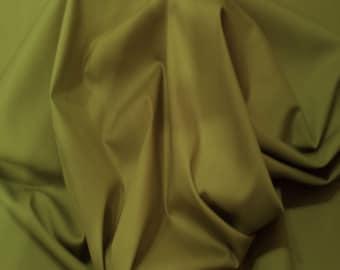 "Green - 100% Cotton Poplin Dress Fabric Material - Plain Solid Colours - Metre/Half - 44"" (112cm) wide"