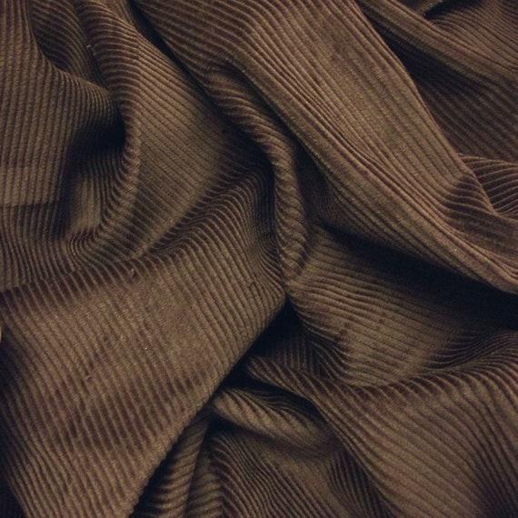 High quality 150 cm wide Corduroy 100/% Premium Cotton Fabric 8 Wale