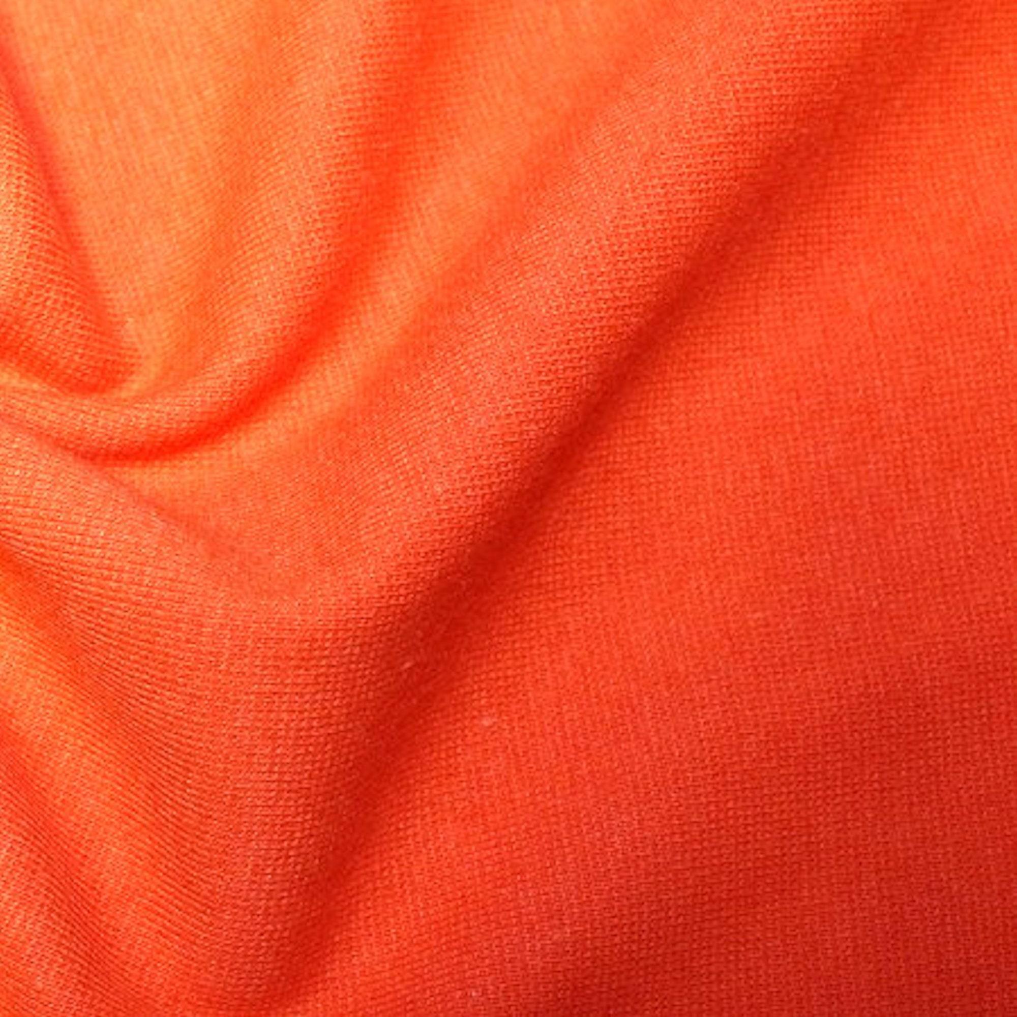 4baab88b6c Orange - Stretch Cotton Tube Tubing Fabric Material - 37cm round (14.5