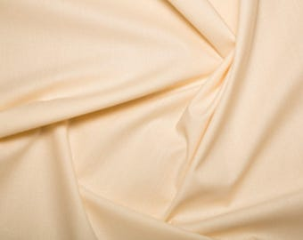 """Cream - Extra Wide Cotton Sheeting Fabric 100% Cotton Material - 239cm (94"""") wide"""