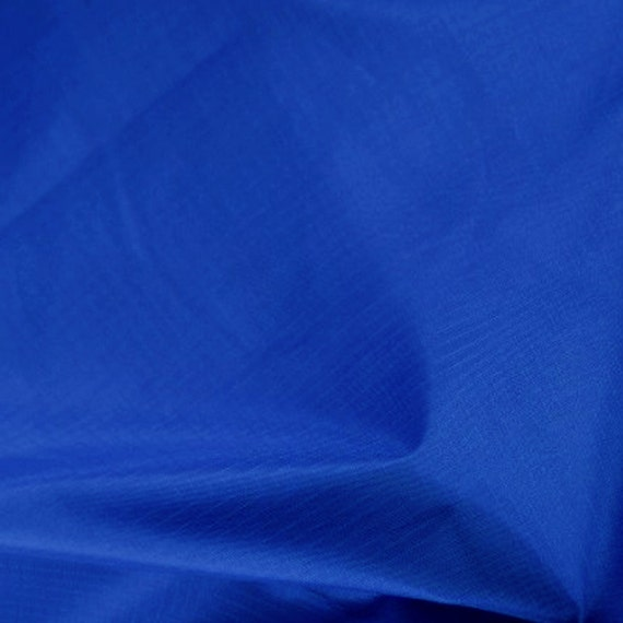 NAVY Ripstop Rip-Stop 100/% Polyester Waterproof Fabric Material Fabric 150cm