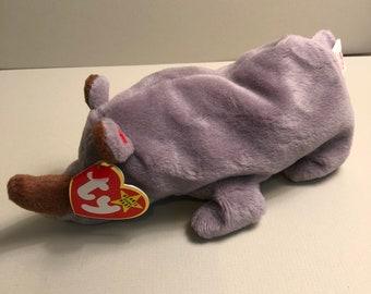 b3e5babc8cc Ty rhino beanie baby