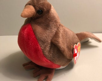 0239a3ad18d Early the Robin from the Ty Bird Beanie Babies Collection