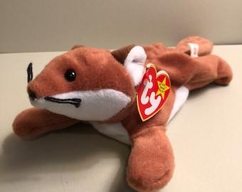 4ba517a8ea9 Sly the Fox - Ty Wildlife Beanie Babies
