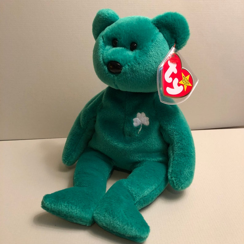 Erin the Ireland Bear - Ty International Bear Beanie Babies