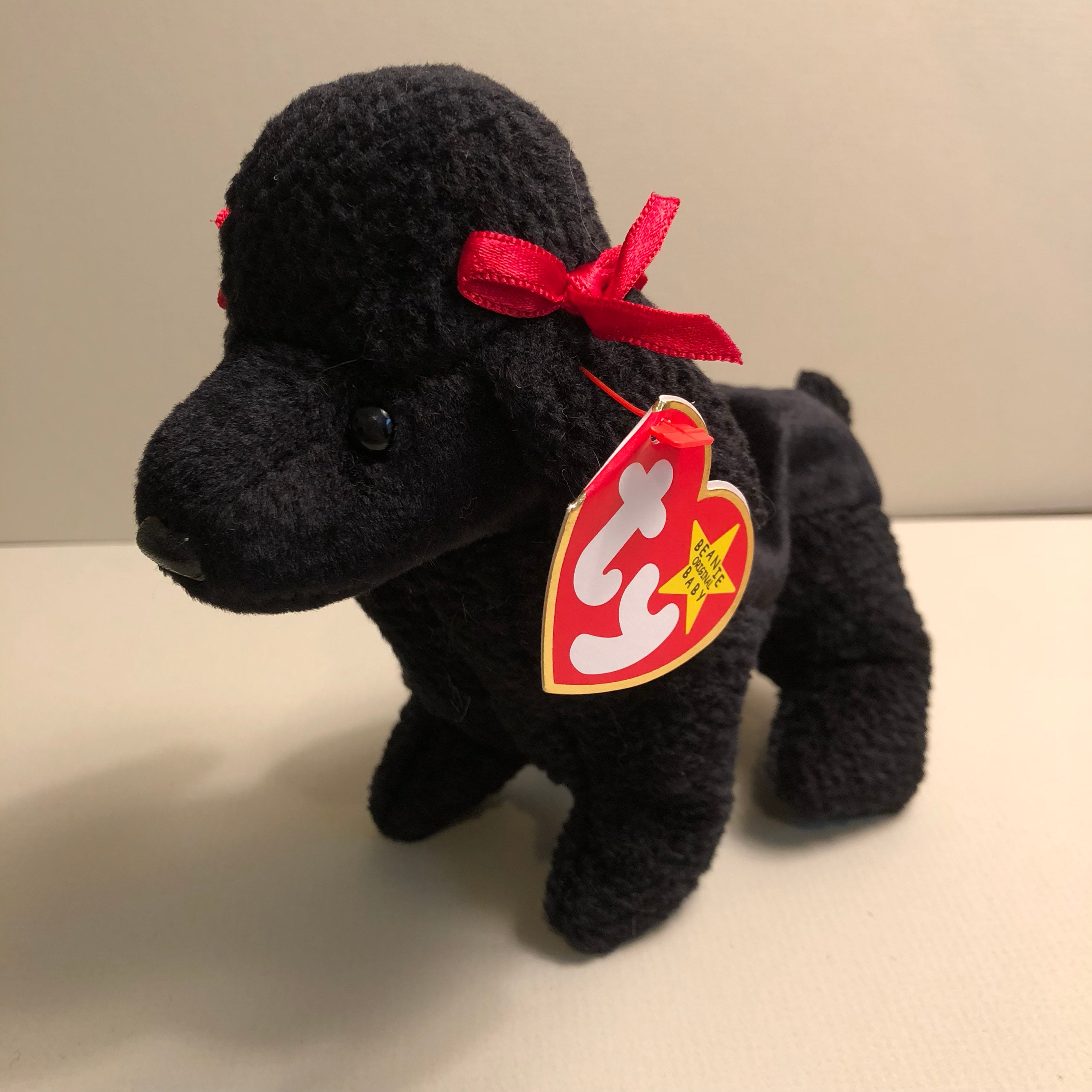 Gigi the Black Poodle Ty Dog Beanie Babies Puppy Baby  6bb94ac9308