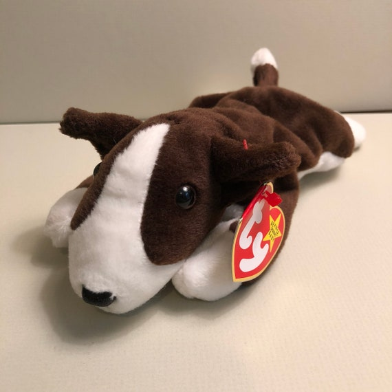 Bruno the Bull Terrier Ty Dog Beanie Babies Puppy Baby  8585160265a