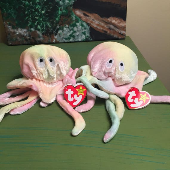Goochy The Jellyfish Ty Teenie Beanie Baby McDonald/'s