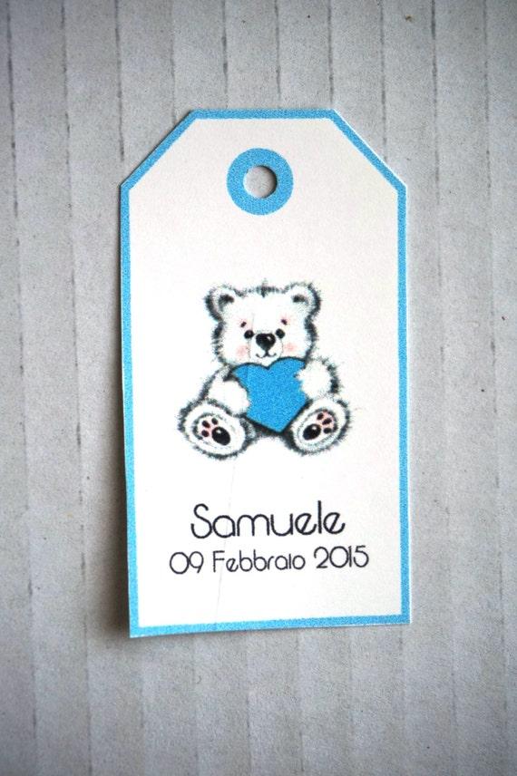 === miniatura Teddy orsetto con circa 7,5 cm dimensioni-blu con pelle-PEZZO UNICO