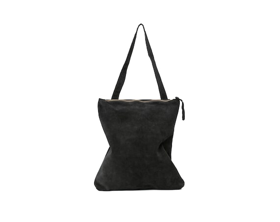 7c8277d4746c Black suede bagBlack leather toteBlack leather bagBlack