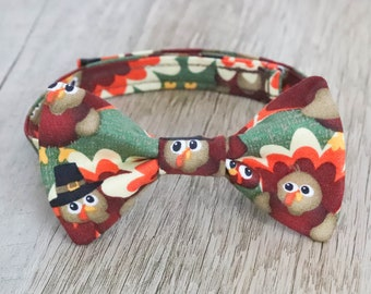 Boys Thanksgiving Bow Tie, Turkey Bow Tie, Mens Thanksgiving Bow Tie, Graduation Bow Tie, Boy Bow Tie, Fathers Day Bow Tie, Baby Shower Gift