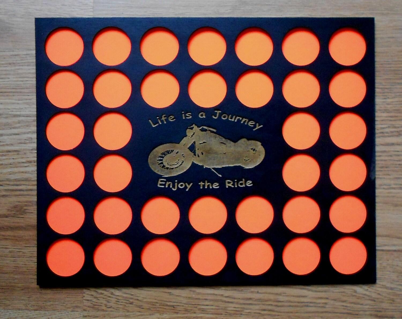 Poker Chip Display Rahmen einfügen passt Harley-Davidson und | Etsy
