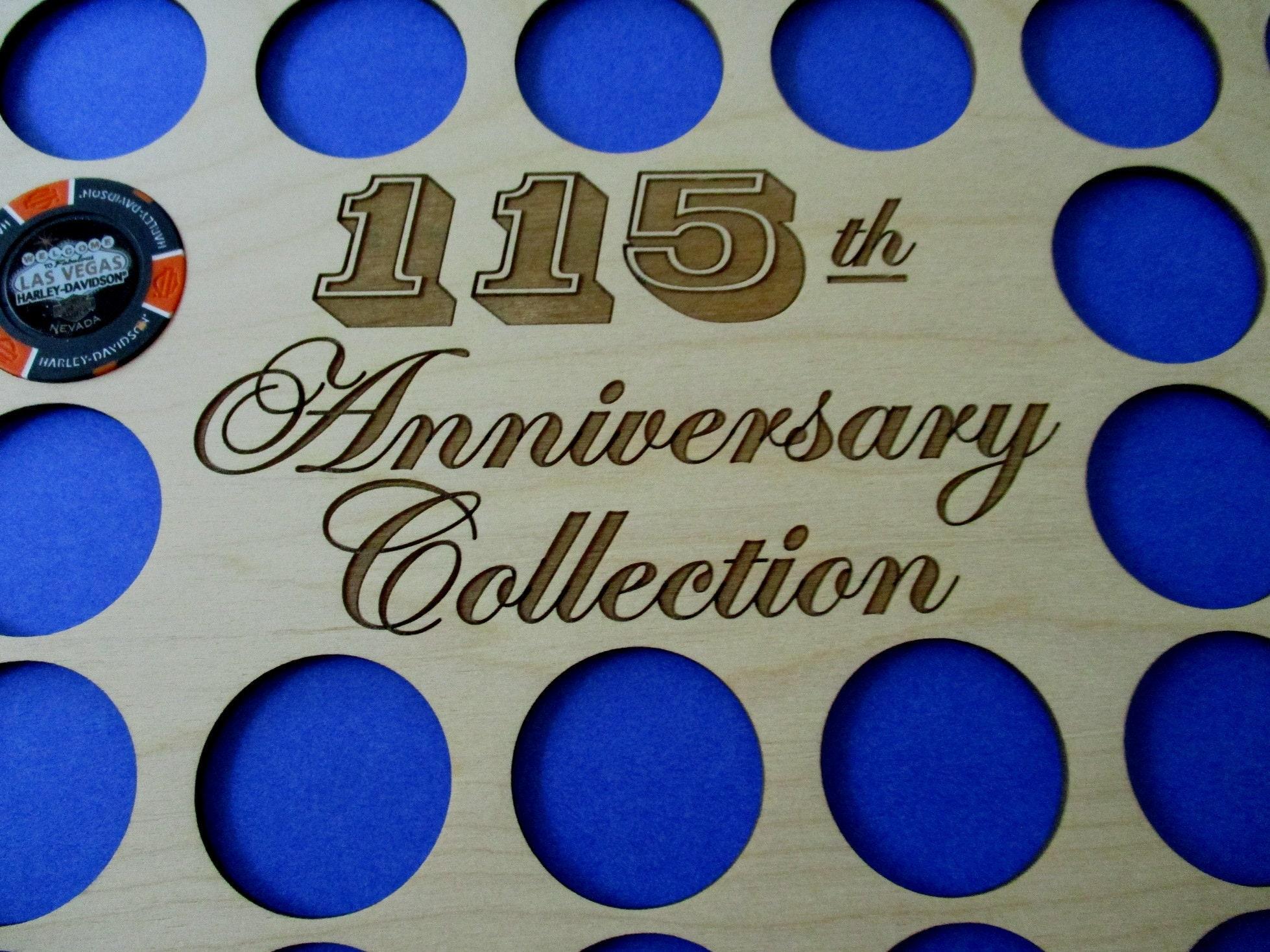 115-Jubiläum Sammlung Poker Chip Rahmen Anzeige einfügen passt | Etsy