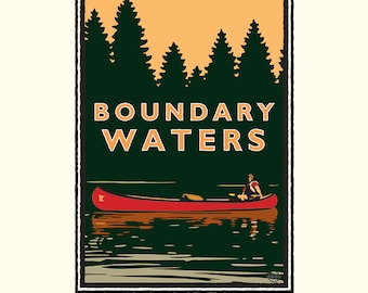 Landmark MN | Boundary Waters by Mark Herman