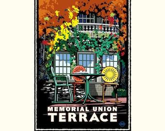 University UW | Madison Memorial Union Terrace by Mark Herman
