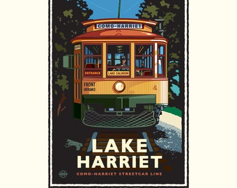 Landmark MN | Lake Harriet Trolley by Mark Herman.