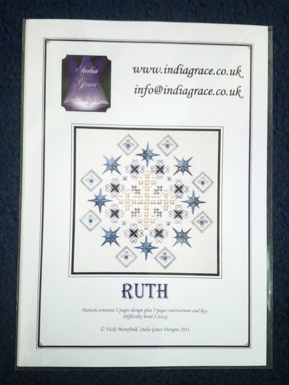 Aurora Hardanger and Speciality Stitch embroidery pattern