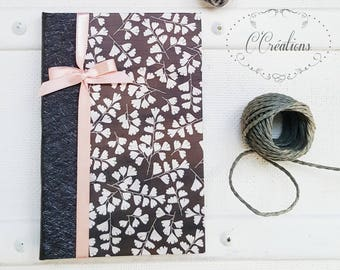 Small Notebook,  anthracite and pink
