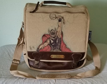 Thor Messenger Bag by Sean Iredale