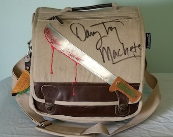 Danny Trejo Autographed  Machete Messenger Bag