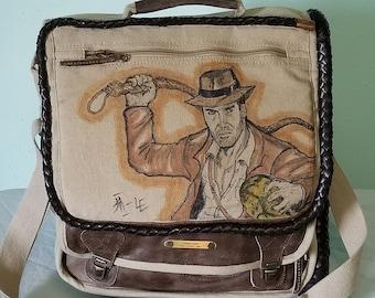 Indiana Jones Messenger Bag by Sean Iredale