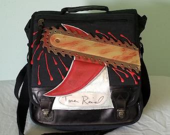 Tara Reid Autographed Sharknado Messenger Bag