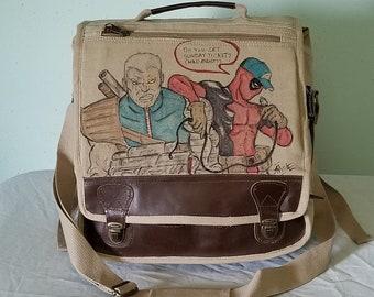 Deadpool Messenger Bag by Sean Iredale