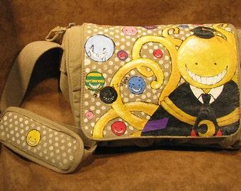 dfdb9824d9 Anime Original Artwork Canvas Shoulder Bag 5915n8