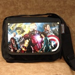 Avengers Limited Edition Print on Canvas Shoulder Bag